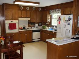 kitchen paneling how painting wood paneling will change your life