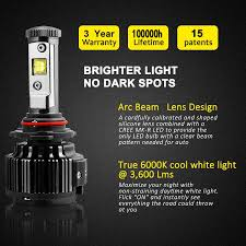 Led Bulbs For Fog Lights by 6pcs Led High Low Beam Headlight U0026 Fog Light Bulb Combo 9005