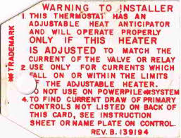heat anticipator settings on room thermostats how u0026 why to adjust
