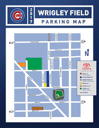 Chicago Parking Zone Map by Wrigley Field Parking Maps Tips U0026 Rates