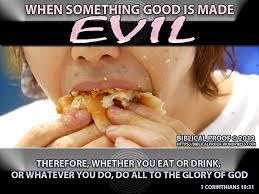 good evil biblical proof