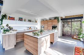 gray kitchen floors with oak cabinets 50 grey floor design ideas that fit any room digsdigs