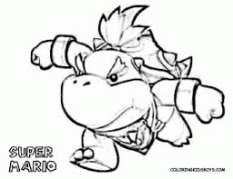 guide bowser coloring pages colorine 3390 widetheme coloring