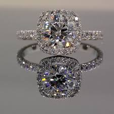 halo engagement rings park avenue halo engagement ring winkcz