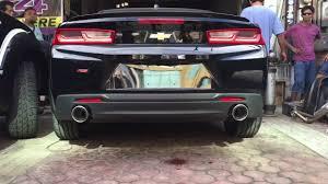 camaro exhaust system project flex 2016 chevrolet camaro rs installation of the borla