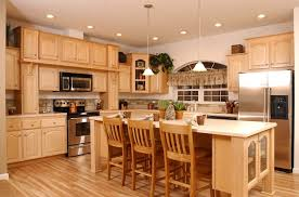 Maple Kitchen Cabinet Refinishing Maple Kitchen Cabinets Of How To Beautify A Kitchen