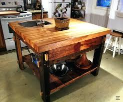 ilot cuisine bois ilot cuisine bois ilot central bois blanc globr co