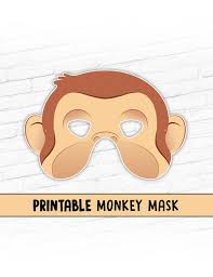 new monkey printable halloween mask curious george costume