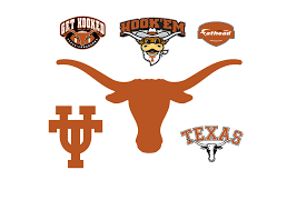 Texas Longhorn Home Decor Texas Longhorns Logo Wall Decal Shop Fathead For Texas