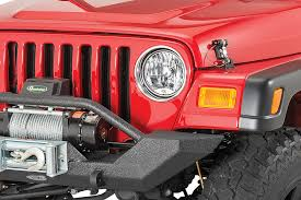 jeep lights on top 1997 2006 wrangler tj jeep lighting lenses bulbs quadratec