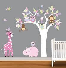 chambre la girafe deco chambre bebe girafe visuel 8