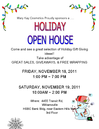 Christmas Open House Ideas by Mary Kay Cosmetics Holiday Open House
