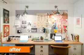 www apartmenttherapy com before after amber s 2 for 1 home office makeover apartment