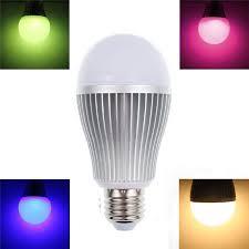 2 4g wifi android ios app remote control led globe light bulb e27