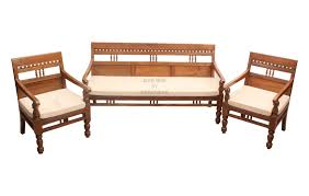 Sofa Set Designs For Living Room India Carved Teak Sofa Set In Elegant Design For Your Living Room