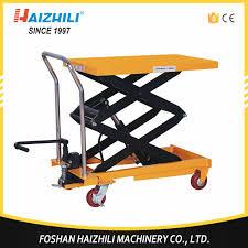 Hydraulic Scissor Lift Table by Hydraulic Scissor Lift Table Cart Hydraulic Scissor Lift Table