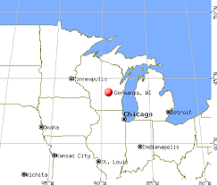 germania map germania wisconsin wi 54486 profile population maps real