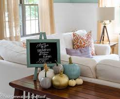 homegoods fall decorating