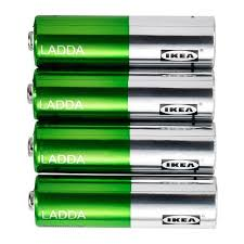 Ikeas Ikeas Ladda Rechargeable Battery 4 Pack On Sale Consultants