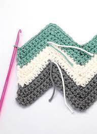 pattern of crochet stitches ripple crochet pattern how to crochet chevron cushions mollie makes