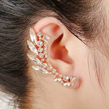 cuff earings aliexpress buy fashion clear ear cuff earrings women