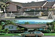 the real brady bunch house los angeles california patio out back of the brady s house the brady bunch via 10