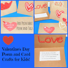 valentine u0027s day poem and card craft for kids wikki stix
