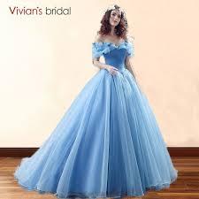 cinderella wedding dress deluxe cinderella wedding dresses blue cinderella