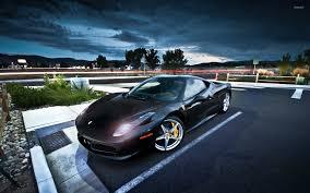 Ferrari F12 Liberty Walk - ferrari 458 italia wallpaper black ferrari 458 white and black