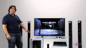 lg blu ray home theater system home theater cinema 3d sound lg design inovador youtube