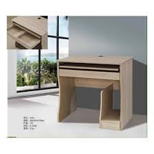 Beech Computer Desk Modern Beech Home Office Pc Computer Desk Table With 2 Drawers