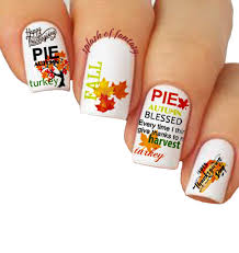 nail 3d stickers thanksgiving collection ee iv splash of