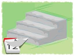 Removing Paint From Concrete Steps by The Best Way To Build Concrete Steps Wikihow