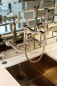 kitchen antique mirror backsplash installed diy mirrored ki mirror