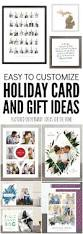 easy to customize holiday card and unique gift ideas