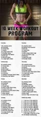 best 25 10 week workout ideas on pinterest weekly workout