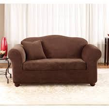 Stretch Sofa Covers by Living Room Couch Covers Bath And Beyond Wingback Slipcover