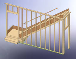 How To Frame A Garage Door by 48x28 Garage With Attic And Six Dormers