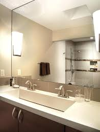 enjoyable trough sink bathroom double trough sink bathroom modern