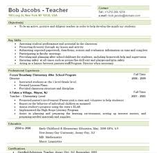 Resume Sample For Lecturer Elementary Teacher Resume Sample Substitute Teacher Resume