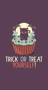 halloween background black cat happy halloween happy halloween trick or treat and stay