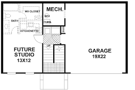 Home Plans With Basement Floor Plans Traditional Split Level Home Plan 2068ga Architectural Designs