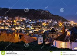 Hastings England Map by Hastings England Illuminated At Night Royalty Free Stock Image