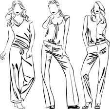 sketch of fashion dress free vector download 9 174 free