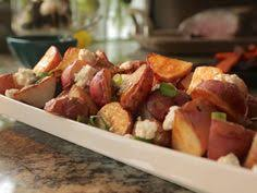 beet and potato salad with blue cheese dressing and dill recipe