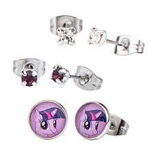 my pony earrings jewelry sears