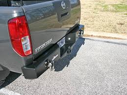 nissan frontier front bumper 2005 2016 frontier rear bumper with integrated receiver hitch