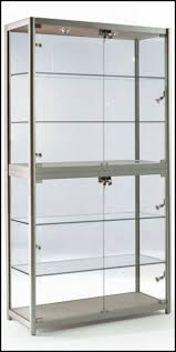 Wall Mounted Display Cabinets With Glass Doors Furniture Wooden Display Cases Wooden Show Cases Glass Storage