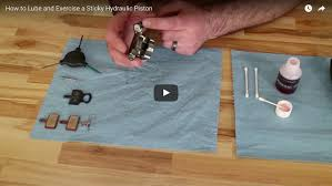 Sticky Laminate Floor How To Lube And Exercise A Sticky Hydraulic Piston Trp Cycling