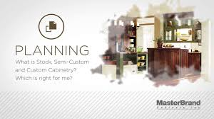 Masterbrand Kitchen Cabinets Learn About Different Types Of Cabinets Stock Semi Custom And